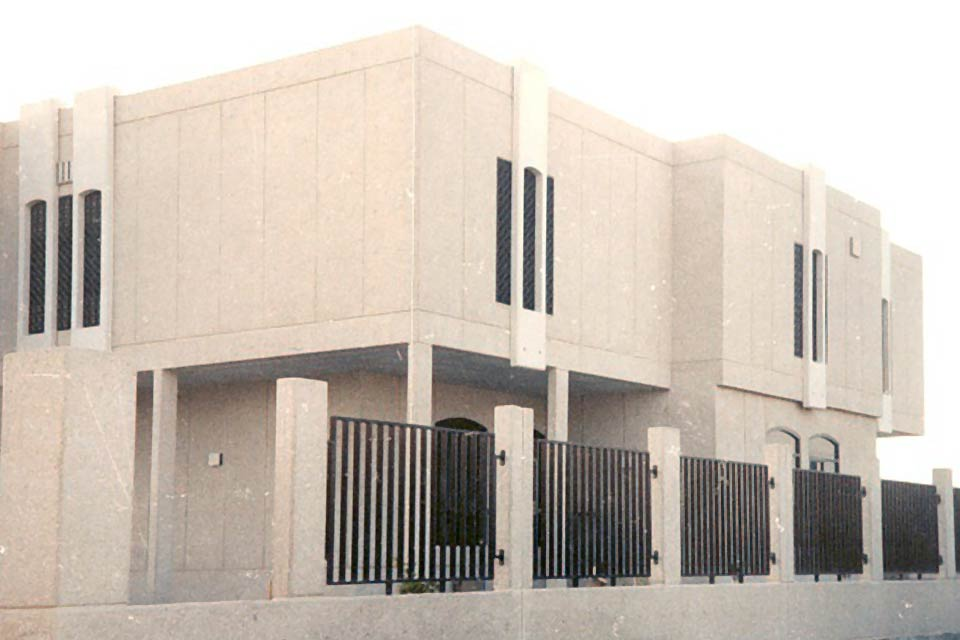 State of Kuwait Embassy in Abu Dhabi - Pace - Architecture