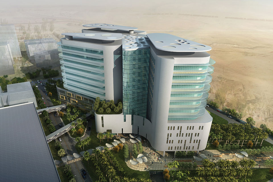 Kuwait Cancer Centre - Pace - Architecture Engineering + Planning