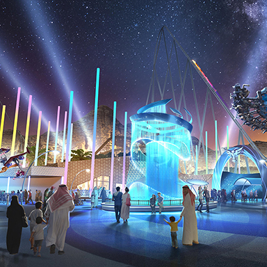 Qiddiya is going to be Saudi's centre of entertainment and recreation